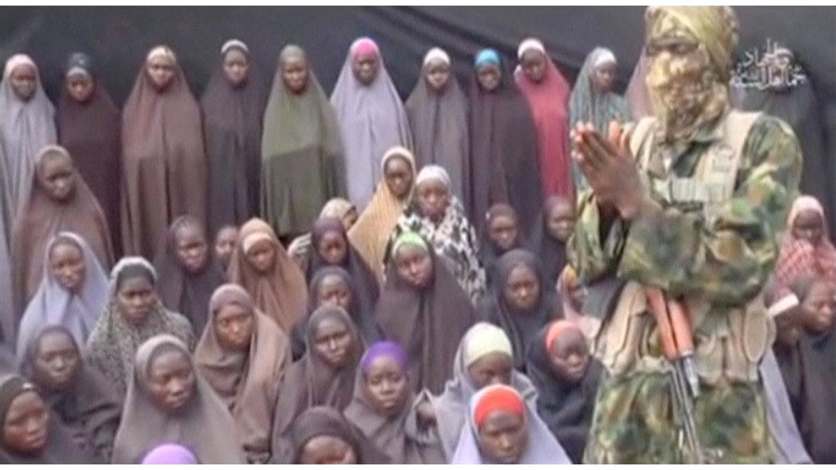 Imagen de las niñas secuestradas por los terroristas de Boko Haram.