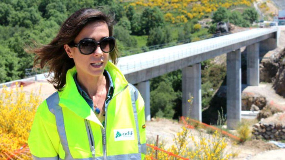 La nueva directora general de Adif, Isabel Pardo.