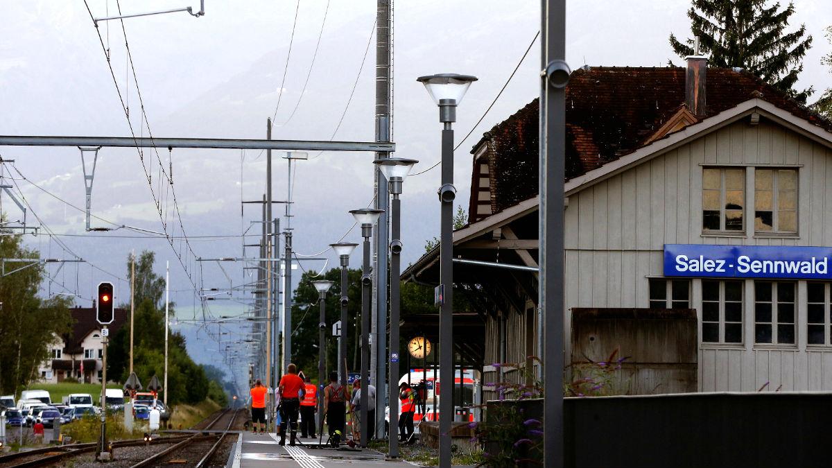 Estación en la que se produjo el ataque (Foto: Reuters).