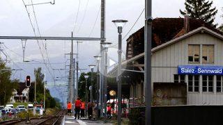 Estación de Salez en la que se produjo el ataque (Foto: Reuters).