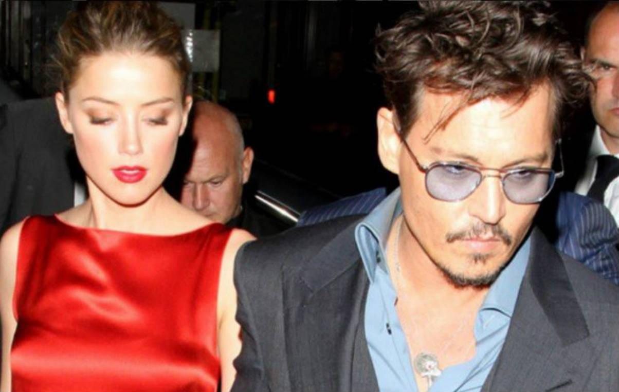 Amber Heard y Johnny Depp (Instagram)