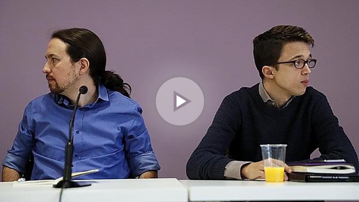 Pablo Iglesias e Iñigo Errejón en rueda de prensa. (Foto: EFE)