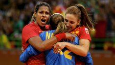Las 'guerreras' celebran el pase a cuartos en Río. (Getty)
