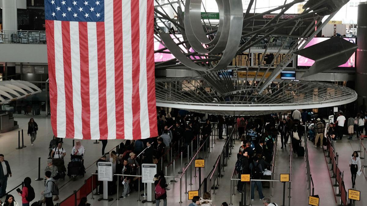 El aeropuerto JFK de Nueva York en una imagen de archivo. (Foto: Getty)