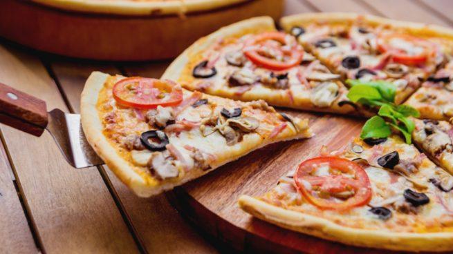 Pizza napolitana sin gluten