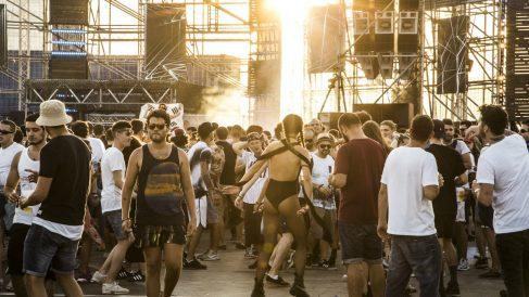 Más de 30.000 personas asistieron a la segunda edición de la sede en Barcelona del festival holandés DGTL. (Foto: Patricia Nieto)