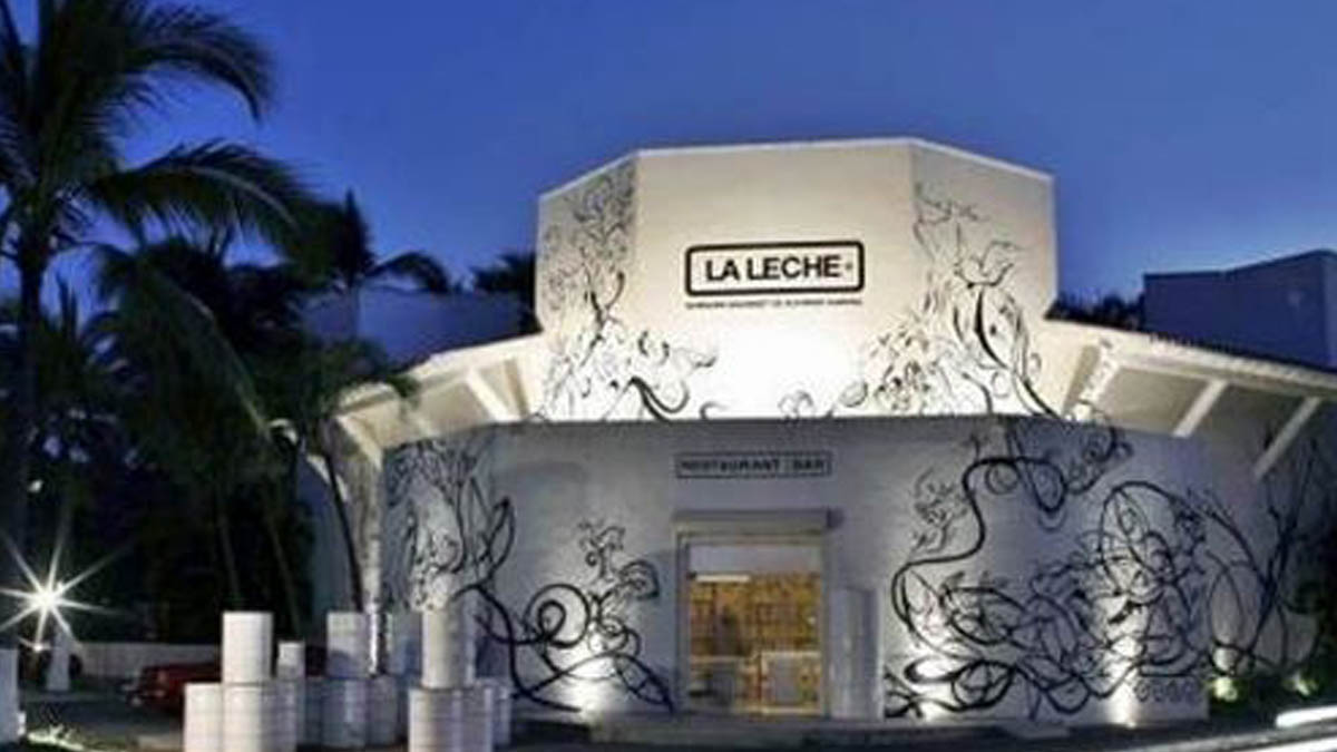 Restaurante La Leche donde tuvo lugar el secuestro.