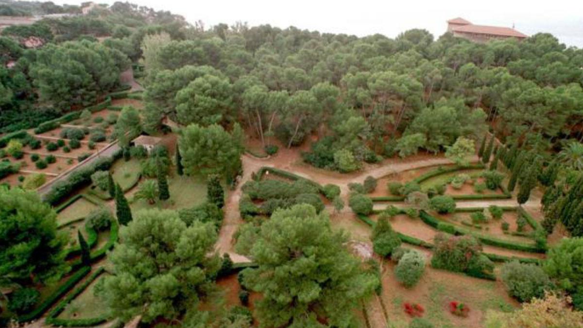 Los jardines de Marivent. (Foto: Archivo)