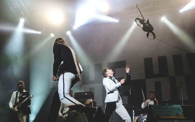 The Hives, petándolo mucho (Foto: Sonorama Ribera).
