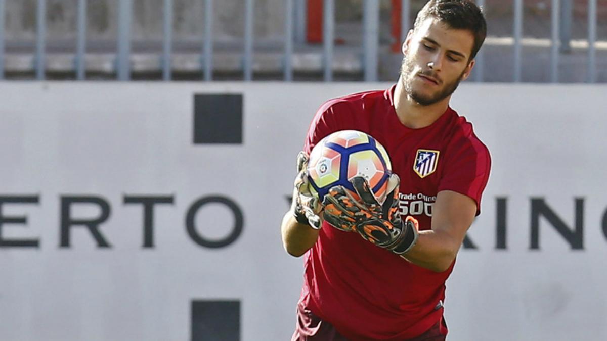 André Moreira se entrena con el Atlético de Madrid