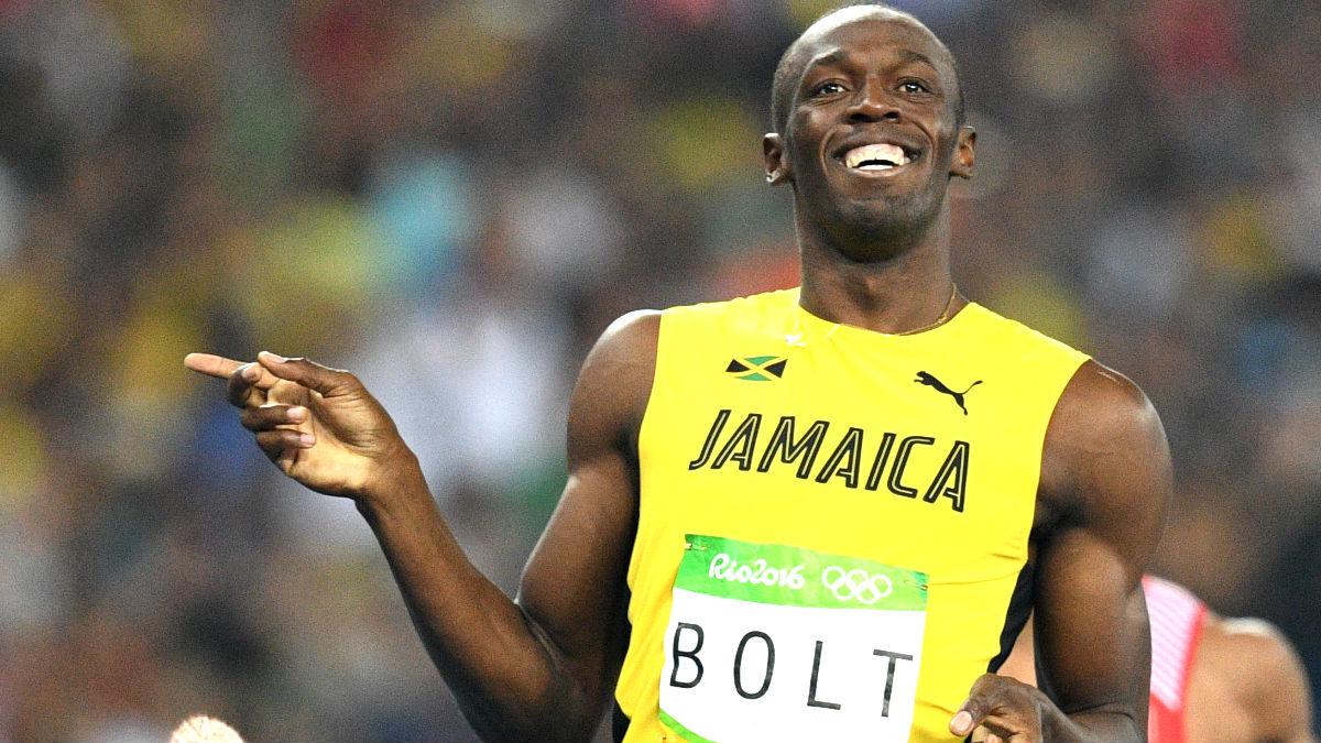 Usain Bolt celebra una de sus victorias (Foto: AFP).