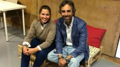 El directivo de Mercamadrid Álvaro Curiel, junto a su socia de WorkToday, Marta Romero.