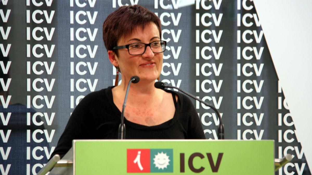 Marta Ribas, coordinadora nacional de ICV. (Foto: Agencias)