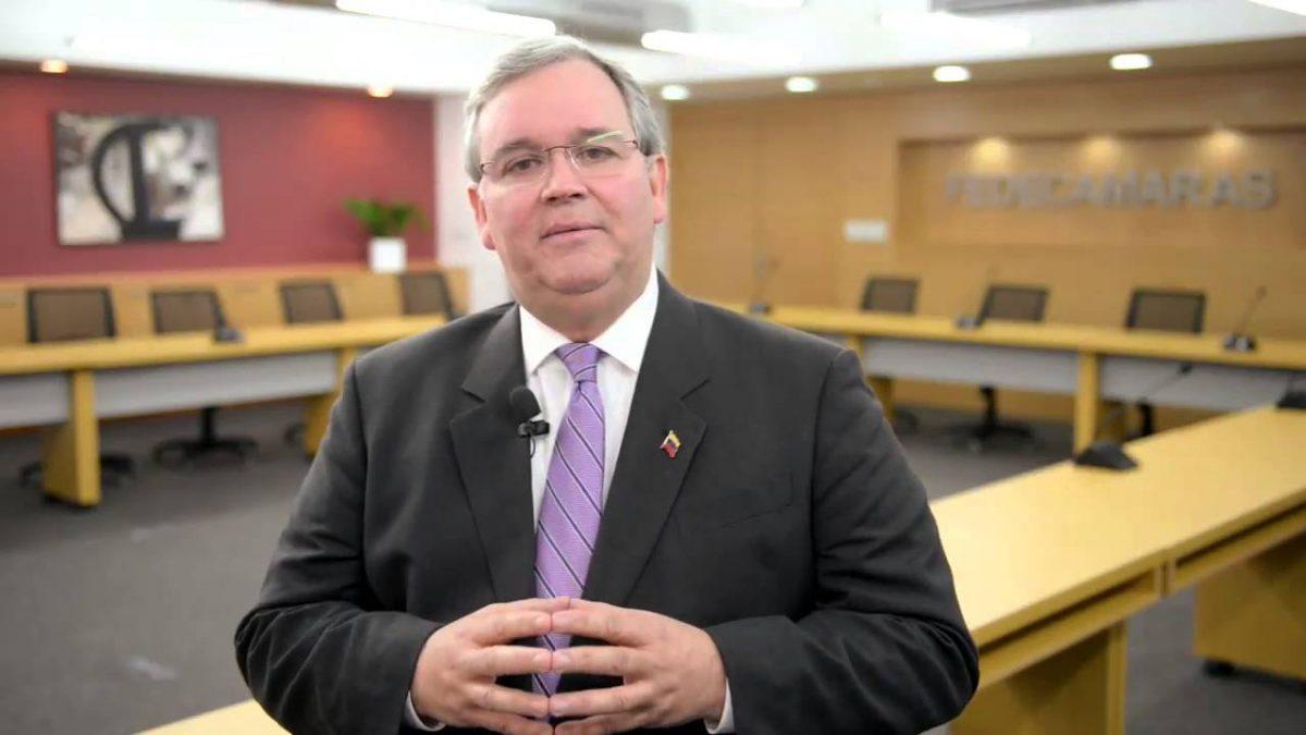 Francisco Martínez, presidente de Fedecámaras