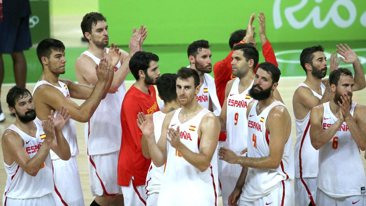 Los jugadores de la selección española (Foto: Reuters).
