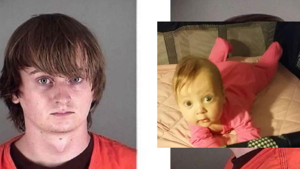 Este hombre mató a su bebé de 4 meses.