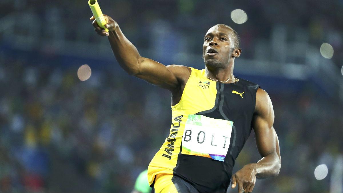Usain Bolt celebra el triunfo (Foto: Reuters).