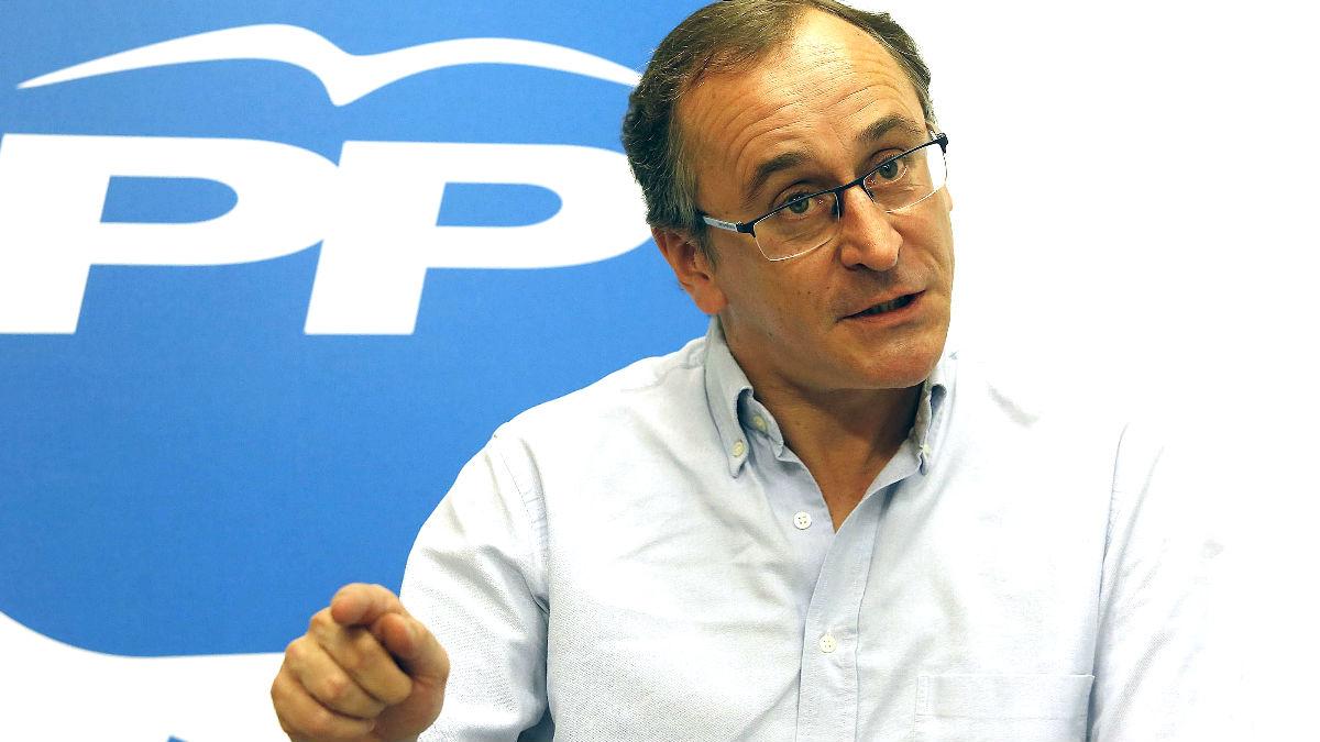 Alfonso Alonso en una reciente imagen (Foto: Efe).