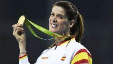 Ruth Beitia con la medalla de oro en Río 2016 (Foto: Reuters)