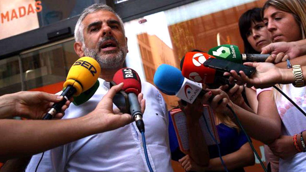 Carlos Carrizosa, portavoz de Ciudadanos en el Parlament. (Foto: EFE).