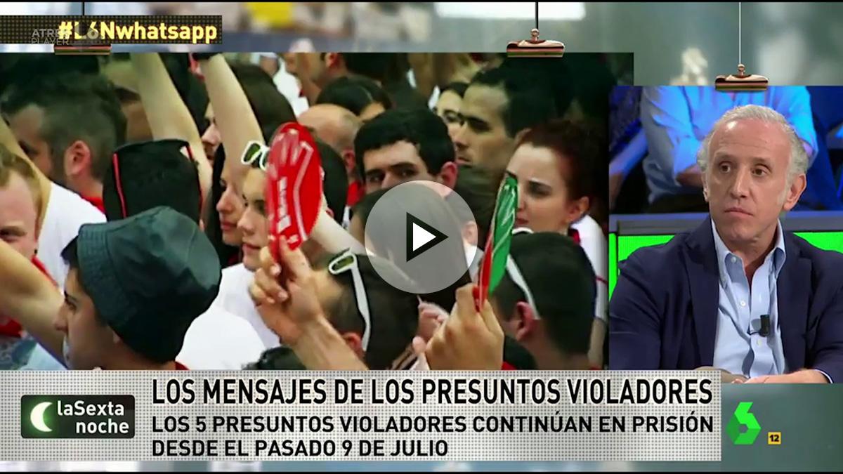 Las agresiones sexuales en los Sanfermines, a debate en La Sexta Noche.