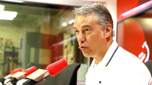 Iñigo Urkullu en una reciente entrevista (Foto: Efe).