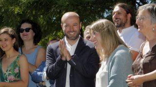 Luis Villares, portavoz de En Marea en el Parlamento de Galicia.