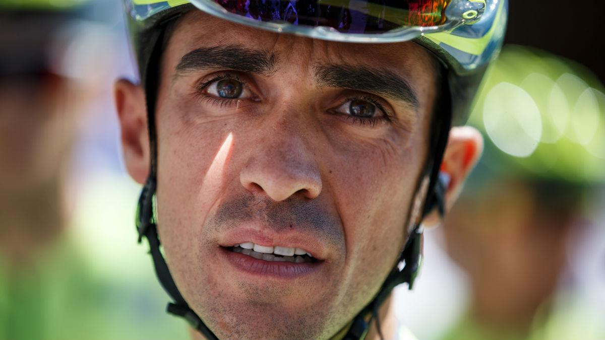 Alberto Contador tiene motivos para estar preocupado. (AFP)