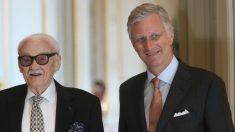 Toots Thielemans con el rey Felipe de Bélgica. (Foto: Getty)