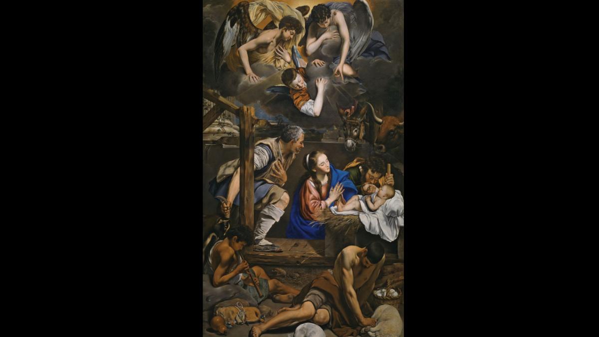 'La Adoración de los Pastores' de Fray Juan Bautista Maíno. (Foto: Museo del Prado)