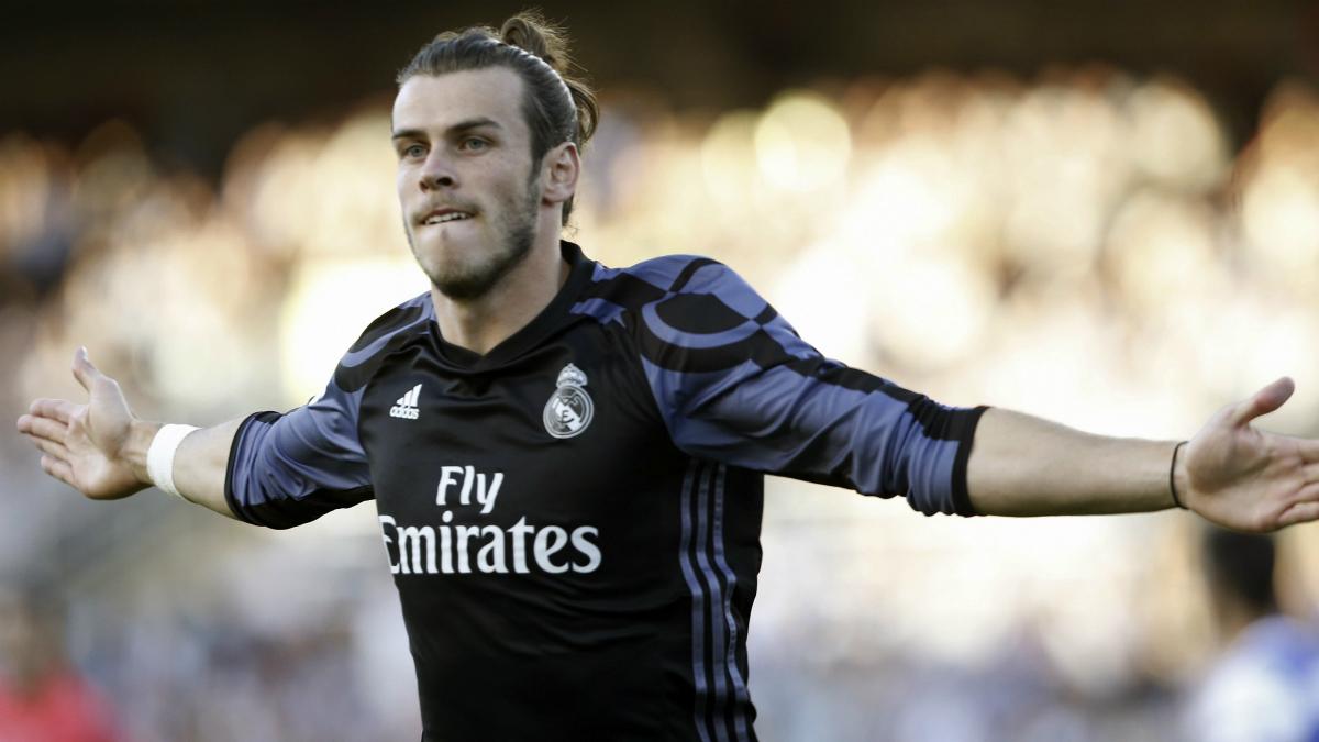 Gareth Bale. (Foto: EFE)