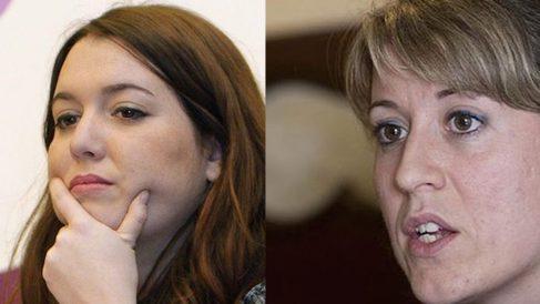 Ángela Rodríguez y Carmen Santos (Foto: Efe).