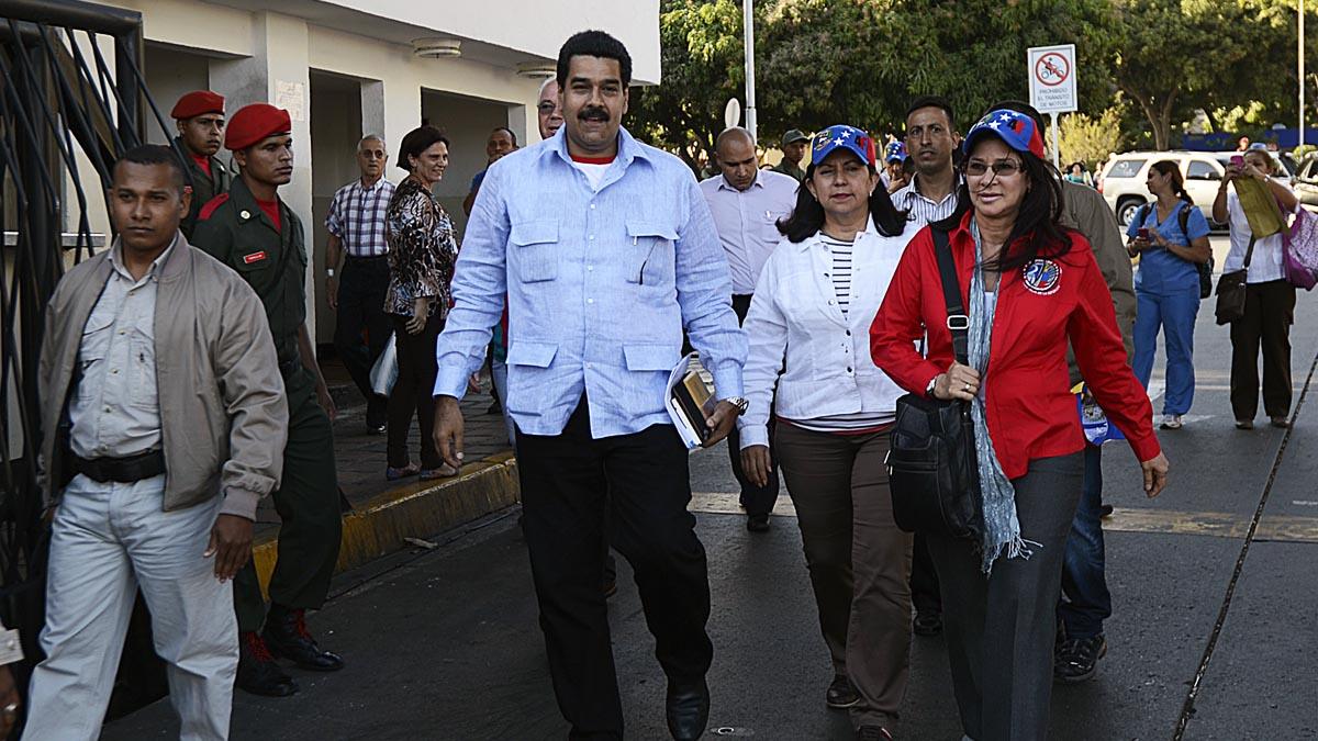 Nicolás Maduro niega la crisis hospitalaria que sufre Venezuela (Foto: AFP)