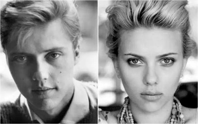 actores y actrices que se parecen como gotas de agua. 6
