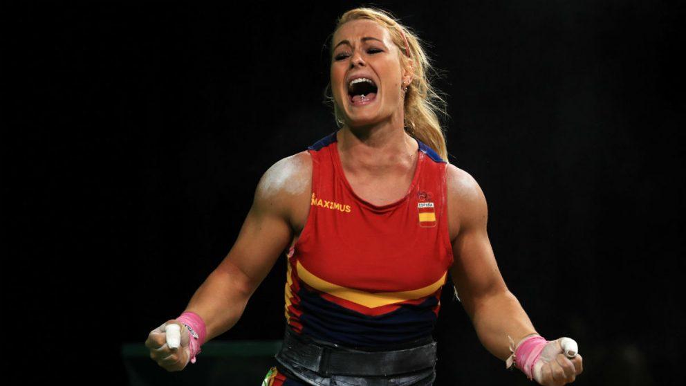 Lydia Valentín gana tres medallas olímpicas en un mes. (Getty)