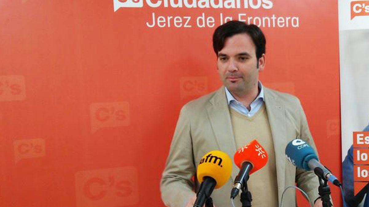 Mario Rosado, edil de Ciudadanos en Jerez de la Frontera acusado de agredir a su pareja en Bilbao.