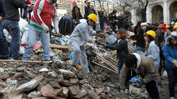 Terremoto de L´Aquila en 2009 (Foto- Efe).
