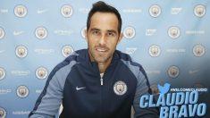 Bravo ya es jugador del Manchester City.