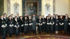 Vocales del VII mandato del CGPJ. (Foto: CGPJ)