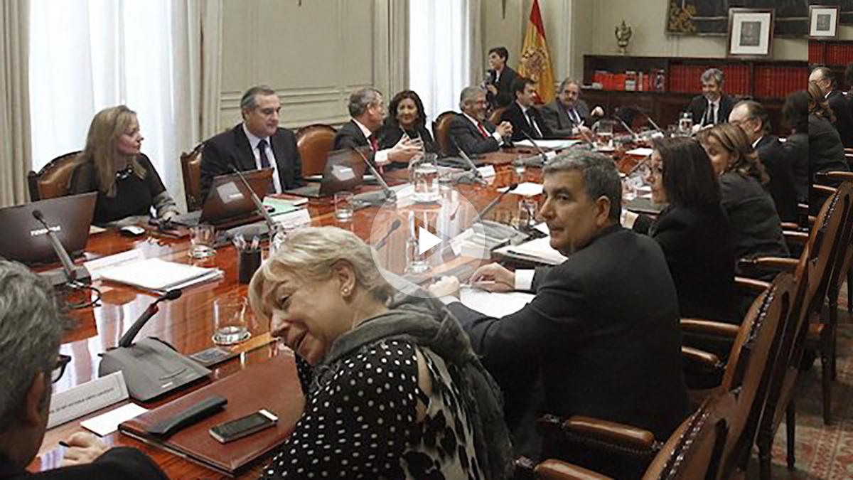 Reunión del Consejo General del Poder Judicial, CGPJ (Foto: Efe).
