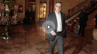 José Manuel Villegas, portavoz adjunto de C's en el Congreso, en el vestíbulo del Ritz. (P.Toledo)