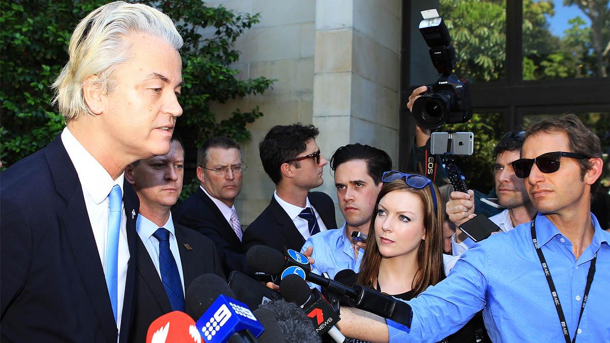 El ultraderechista holandés Geert Wilders. (Foto: Getty)