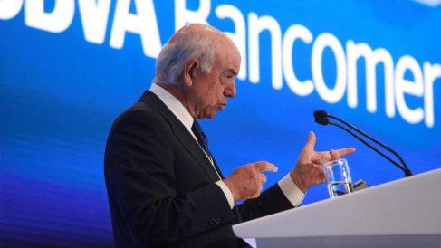 El expresidente de BBVA, Francisco González (Foto: EFE)