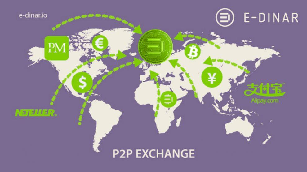 Las redes p2p sirven para intercambiar dinero a lo largo del planeta.