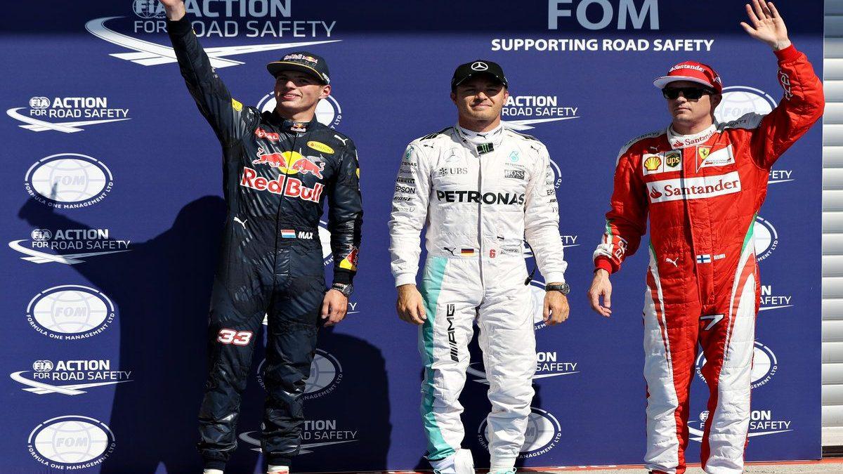 Nico Rosberg logró la pole en Bélgica (Getty)