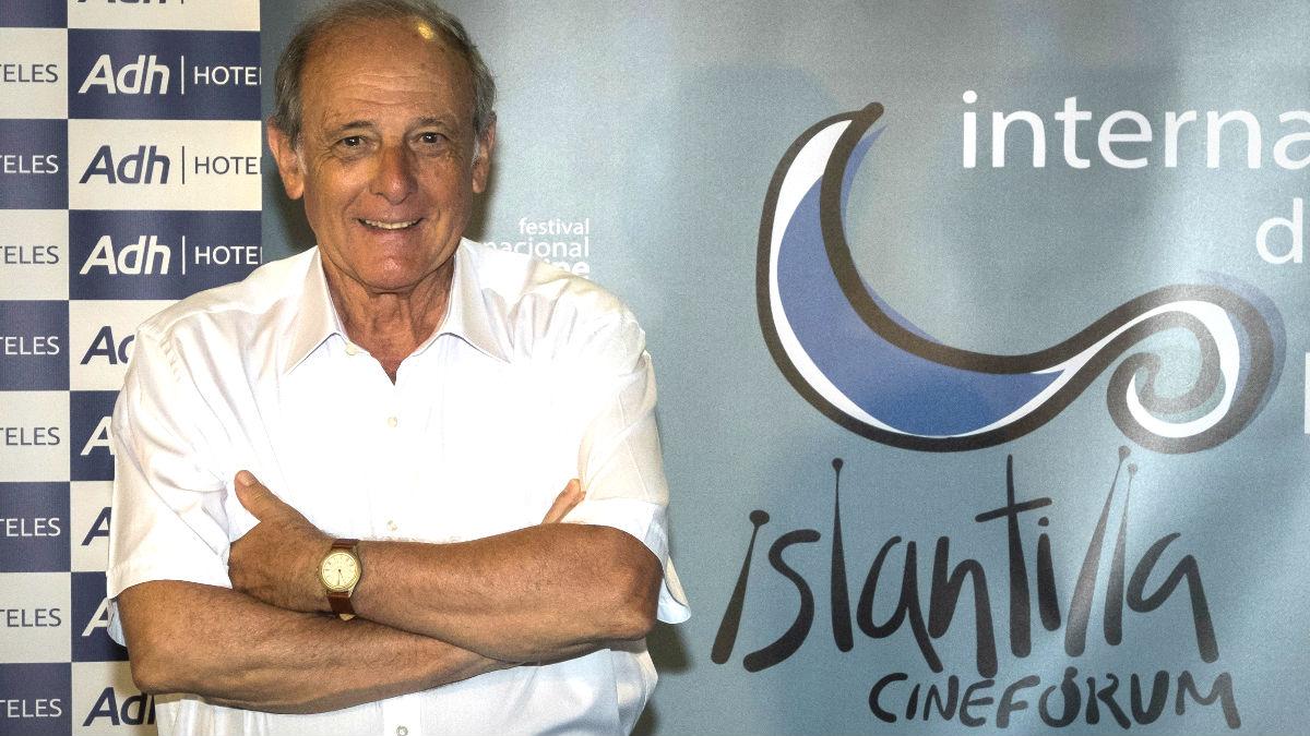 Emilio Gutiérrez Caba en el Festival de Cine de Islantilla (Foto: Efe).