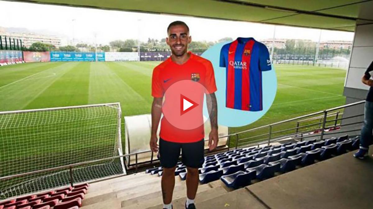 Paco Alcacer aparece en la web del Barcelona antes de tiempo.