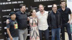 El equipo de la película en la presentación del filme. (Foto: Agencias)