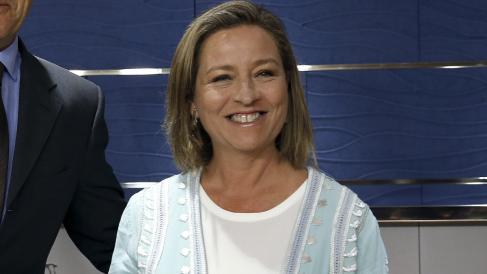 Ana Oramas, portavoz de CC. (Foto: EFE)