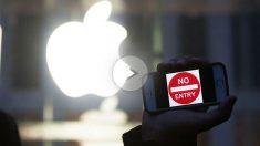 Activistas protestan frente a las sedes de Apple para que no ceda ante el FBI. (Foto: AFP)